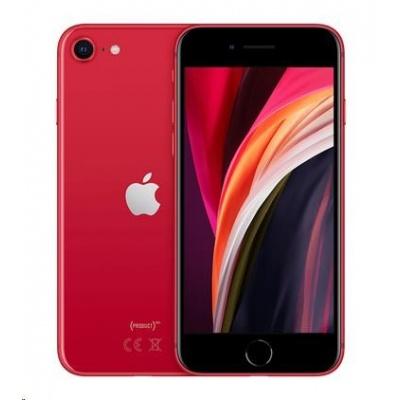 APPLE iPhone SE 128GB (PRODUCT)RED (nabijecka,sluchatka)