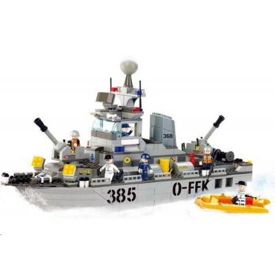 Sluban B-0125 Torpédoborec 461 dílků