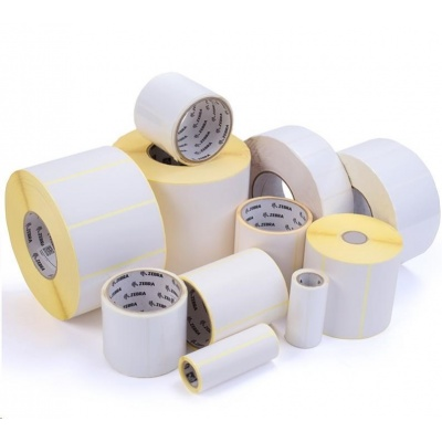 Zebra ZipShip 8000T All-Temp, label roll, normal paper, 51x25mm