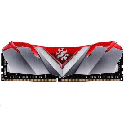 DIMM DDR4 8GB 3600MHz CL16 ADATA XPG GAMMIX D30 memory, Single Color Box, Red
