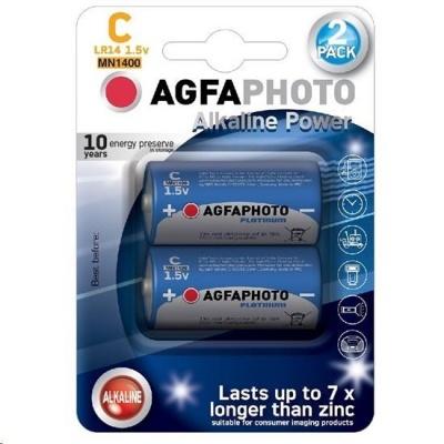 AgfaPhoto Power lkalická baterie LR14/C, blistr 2ks