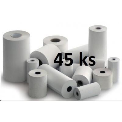 Papírový kotouč papírová páska TERMO, 80/80/12 (80m) - 45ks