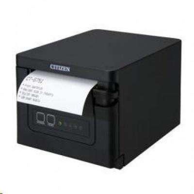 Citizen CT-S751, USB, 8 dots/mm (203 dpi), cutter, black