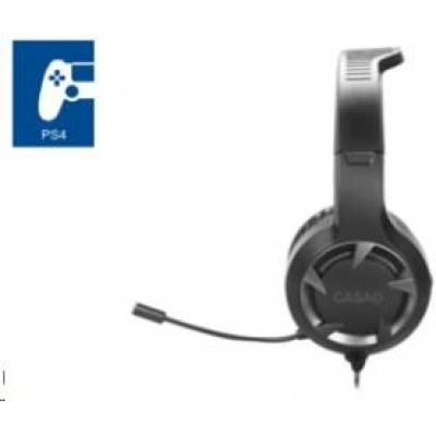 SPEED LINK herní sluchátka SL-450305-BK CASAD Gaming Headset - for PS4, black