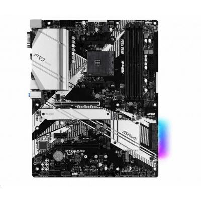 ASRock MB Sc AM4 B550 PRO4, AMD B550, 4xDDR4, HDMI