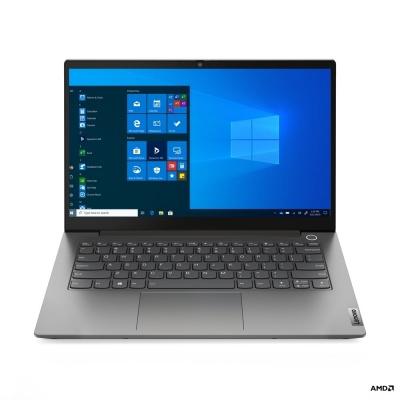 "LENOVO NTB ThinkBook 14 G2 ITL - i7-1165G7@2.8GHz,14"" FHD IPS,16GB,1TBSSD,HDMI,USB-C,cam,W10H,Šedá,2r carry-in"