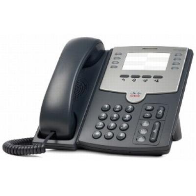 Cisco SPA501G-RF, VoIP telefon, 8line, 2x10/100, PoE, REFRESH