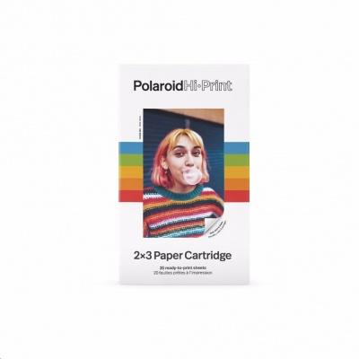 "Polaroid Hi-Print cartridge 2x3"" 20-pack, sticky back"