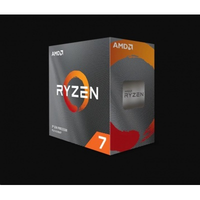 CPU AMD RYZEN 7 3800XT, 8-core, 3.9 GHz, (4.7 GHz Turbo), 36MB cache (4+32), 105W, socket AM4, bez chladiče