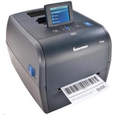Honeywell PC43t, 8 dots/mm (203 dpi), MS, RTC, display, EPLII, ZPLII, IPL, USB