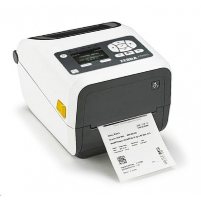 "Zebra TT tiskárna etiketZD620t 4"" LCD, 4"" Healthcare, 203 dpi, BTLE, USB, USB Host, RS232,LAN, WLAN & BT"