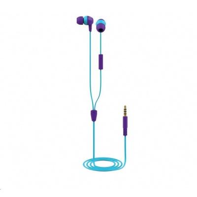 TRUST sluchátka Buddi Kids In-Ear Headphones - purple
