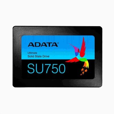 """ADATA SSD 512GB Ultimate SU750SS 2,5"""" SATA III 6Gb/s (R:550/ W:520MB/s) 3D TLC"""