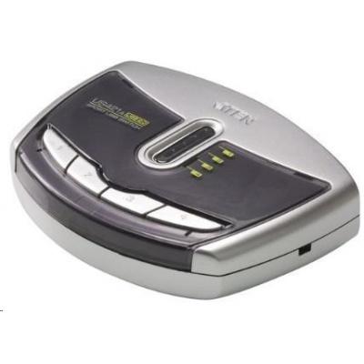 ATEN USB 2.0 Přepínač periferií 4:1 US-421A