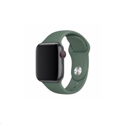 COTEetCI silikonový sportovní náramek pro Apple watch 42 / 44 mm jehličnatá zelená