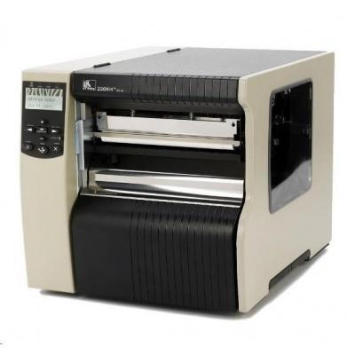 Zebra 220Xi4, 12 dots/mm (300 dpi), odlepovač, rewind, multi-IF, print server (ethernet)