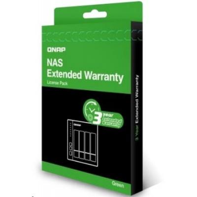 QNAP LIC-NAS-EXTW-GREEN-3Y-EI elektronická prodlužujicí záruka 3 roky