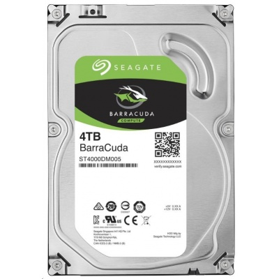 SEAGATE HDD BARRACUDA 4TB SATAIII/600 5400RPM, 256MB cache - záruka 3 roky