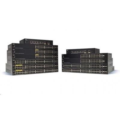 Cisco switch SF250-24-RF, 24x10/100, 2xGbE SFP/RJ-45, 2xSFP, REFRESH