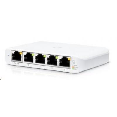 UBNT UniFi Switch USW-Flex-Mini [5xGigabit, 1xPoE In]