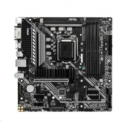 MSI MB Sc LGA1200 MAG B460M BAZOOKA, Intel B460, 4xDDR4, VGA, mATX