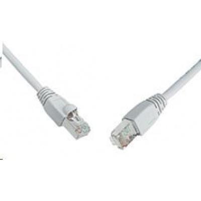 Solarix Patch kabel CAT5E SFTP PVC 7m šedý snag-proof C5E-315GY-7MB