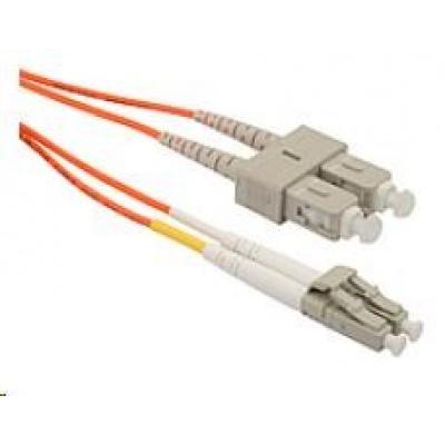 Solarix Patch kabel 50/125 LCupc/SCupc MM OM2 1m duplex SXPC-LC/SC-UPC-OM2-1M-D
