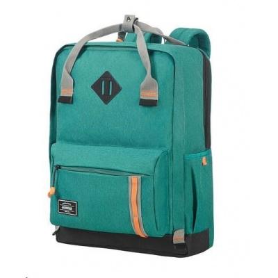 "Samsonite American Tourister URBAN GROOVE LIFESTYLE Backpack 5 17.3"" Green"