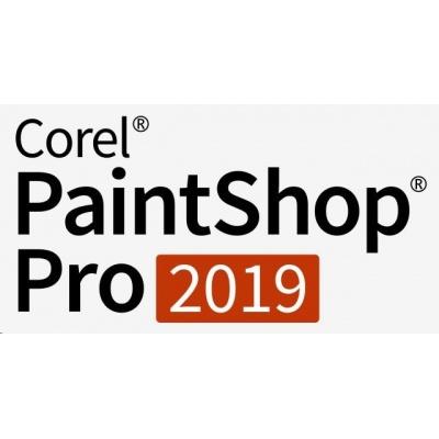 PaintShop Pro 2019 ML License Media Pack EN/DE/FR/NL/IT/ES