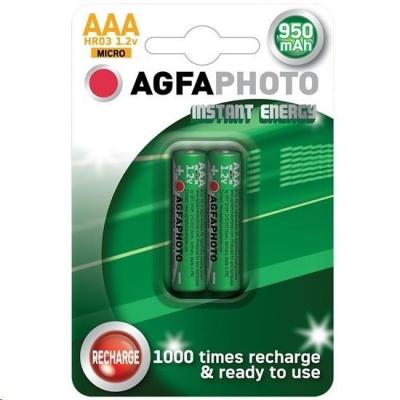 AgfaPhoto přednabitá baterie AAA, 950mAh, 2ks