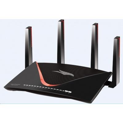 Netgear XR700 Nighthawk Pro Gaming Router, wireless AD7200, 6x gigabit RJ45, 1x 10G SFP+, 2x USB3.0