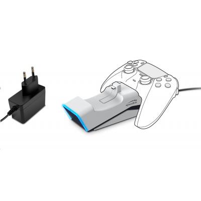 SPEED LINK USB nabíječka TWINDOCK Charging System, pro PS5, bílá