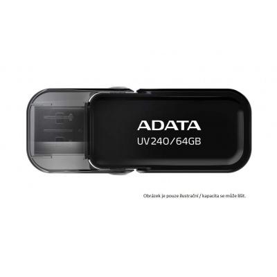 ADATA Flash Disk 16GB UV240, USB 2.0 Dash Drive, černá