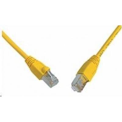 Solarix Patch kabel CAT6 SFTP PVC 7m žlutý snag-proof C6-315YE-7MB
