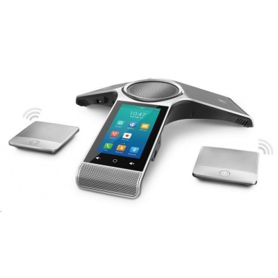 "Yealink CP960,WiFimic IP konferenční tel., 5"" 720x1280 LCD, 1x10/100,Wi-Fi, Bluetooth, PoE, 1x SIP, 2x USB, bez adaptéru"