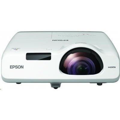 EPSON projektor EB-L200SW, 1280x800, 3800ANSI, HDMI, VGA,LAN.SHORT, 30.000h ECO životnost lampy, REPRO 16W, 5 LET ZÁRUKA