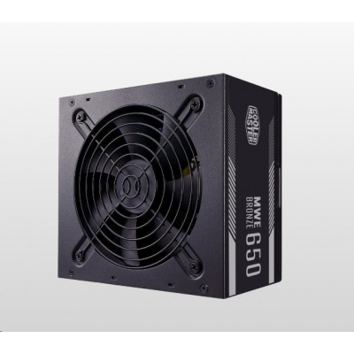 Cooler Master zdroj MWE Bronze 650W V2, 80+ Bronze