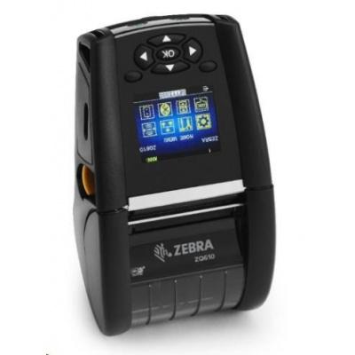 Zebra ZQ610, BT, 8 dots/mm (203 dpi), LTS, disp., EPL, ZPL, ZPLII, CPCL
