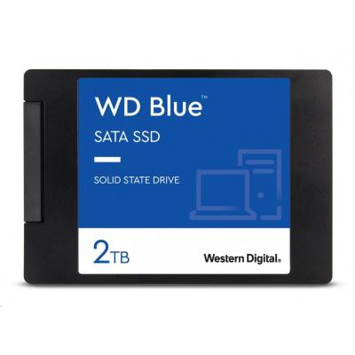 "WD BLUE SSD 3D NAND WDS200T2B0A 2TB SATA/600, (R:560, W:530MB/s), 2.5"""