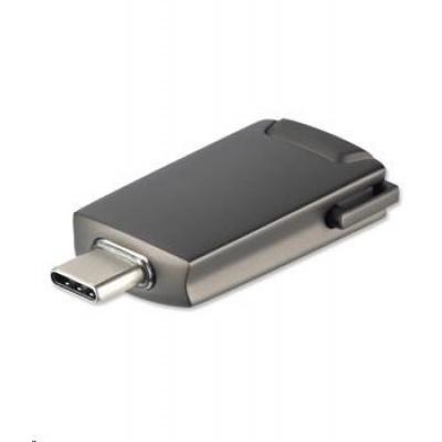 4smarts adaptér USB-C -> HDMI, šedá