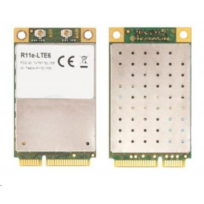 MikroTik R11e-LTE6 - 2G/3G/4G/LTE miniPCi-e karta, 2x u.FL konektor