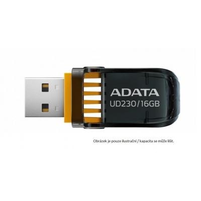 ADATA Flash Disk 64GB UD230, USB 2.0 Dash Drive, černá