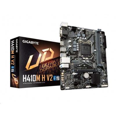 GIGABYTE MB Sc LGA1200 H410M H V2, Intel H470, 2xDDR4, 1xHDMI, 1xVGA, mATX