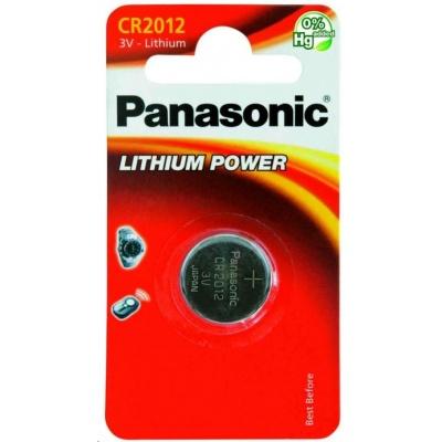 PANASONIC Lithiová baterie (knoflíková) CR-2012EL/1B  3V (Blistr 1ks)