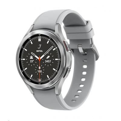 Samsung Galaxy Watch 4 Classic (46 mm), stříbrná
