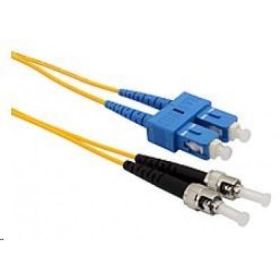 Solarix Patch kabel 9/125 SCupc/STupc SM OS 1m duplex SXPC-SC/ST-UPC-OS-1M-D