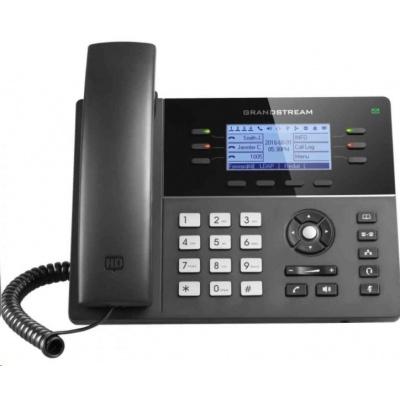 Grandstream GXP1760 [VoIP telefon - 3x SIP účet, HD audio, 4 prog.tl.+6 předvoleb, 1xLAN 100Mbps, PoE]