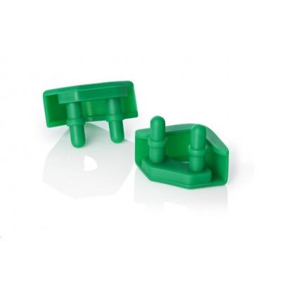 NOCTUA NA-SAVP5.green - sada 16 ks proti vibračních podložek pro ventilátory, zelená