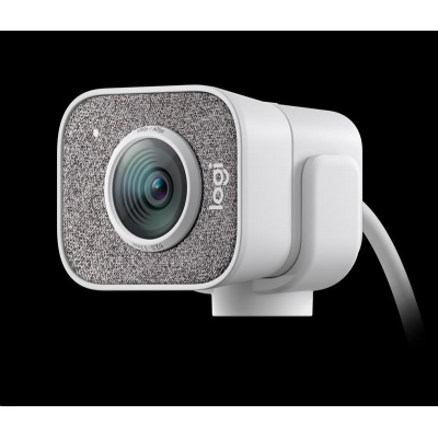 Logitech StreamCam C980 - Full HD camera with USB-C for live streaming and content creation, white