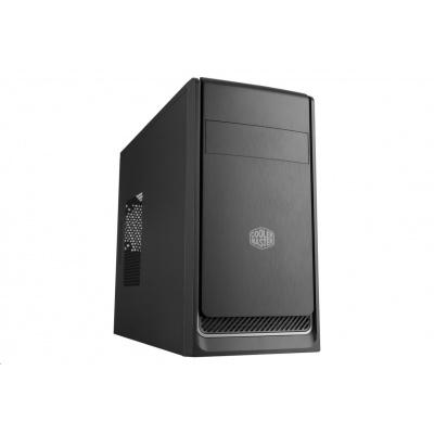 Cooler Master case MasterBox E300L, micro-ATX, Mini Tower, stříbrná, bez zdroje